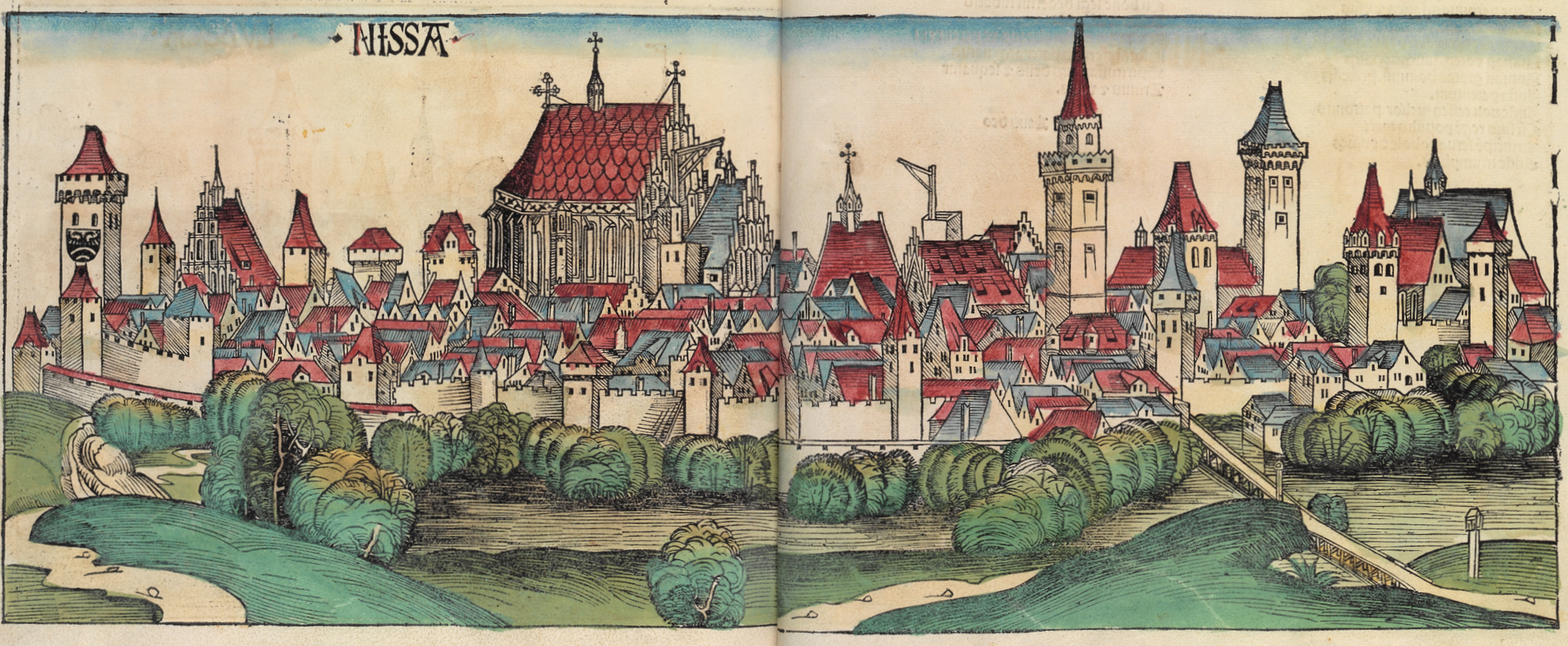 Nysa - panorama miasta